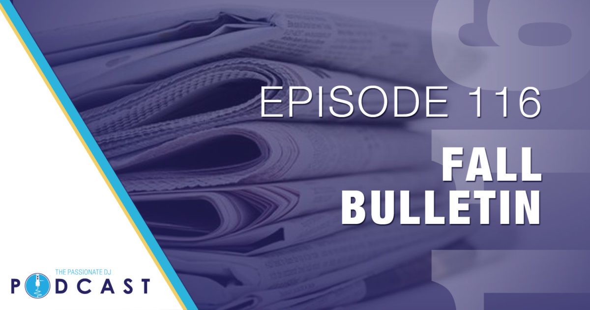 Episode 116: Fall 2017 Bulletin
