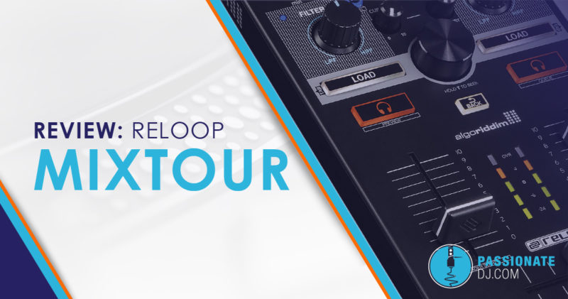 Reloop MIXTOUR Review: Easy Portable Access to Algoriddim Djay