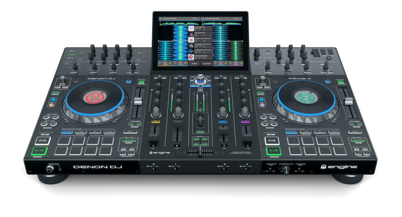 First Look: Denon Prime 4 (Standalone 4-Channel DJ System