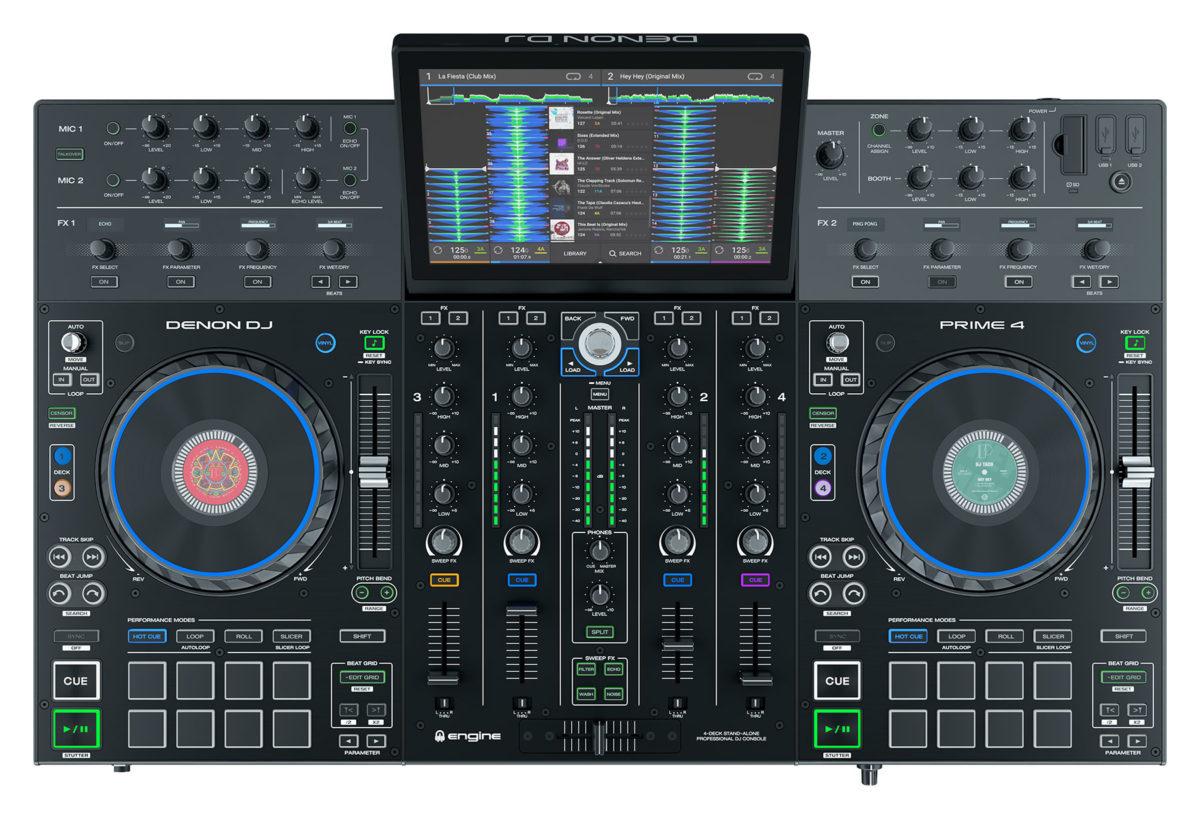 Denon DJ PRIME 4 (Standalone DJ Controller)