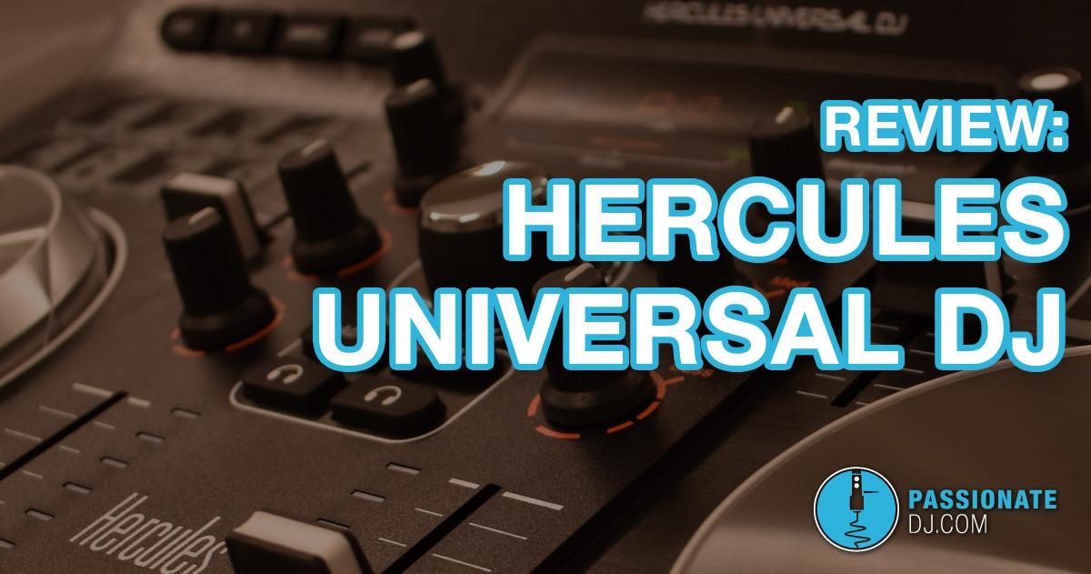 Hercules Universal DJ Review: multi-function DJ Controller for Beginners